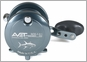 Avet MXL 5.8 Single Speed Lever Drag Casting Reel Left-Hand Gunmetal