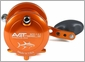 Avet MXL 5.8 Single Speed Lever Drag Casting Reel Left-Hand Orange