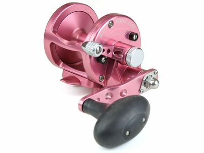 Avet MXL 5.8 Single Speed Lever Drag Casting Reel Pink