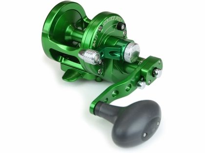 Avet SX 6/4 2-Speed Lever Drag Casting Reel Green