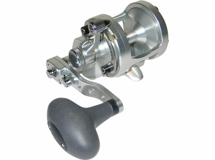 Avet SX 6/4 Raptor 2-Speed Lever Drag Casting Reel Left-Hand Silver