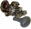 Avet SXJ 6/4 MC Raptor 2-Speed Lever Drag Casting Reel Green Camo