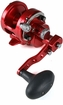Avet SXJ 6/4 MC Raptor 2-Speed Lever Drag Casting Reel Red