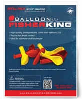 Balloon Fisher King Refill Pack - 10 5in Balloons