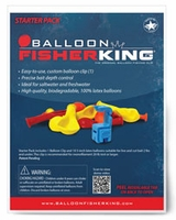 Balloon Fisher King Starter Pack - 1 Balloon Clip, 10 5in Balloons