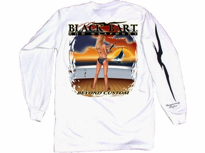 Bart Girl Rod Weaponry Long Sleeve T-Shirts