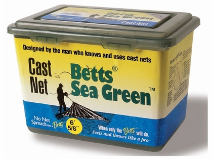 Betts 14-8 Sea Green Live Bait Shrimp Net