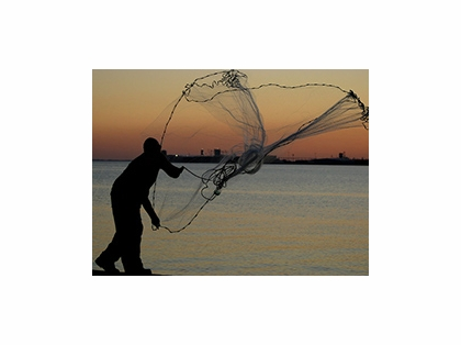 Betts 8HMPB Hi Tider Lead Weight Casting Net