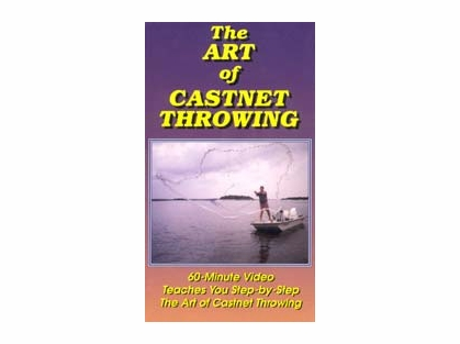 "Betts Cast Net DVD ""The Art of Castnet Throwing"""