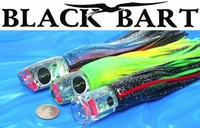 Black Bart Medium Tackle Skirted Lures