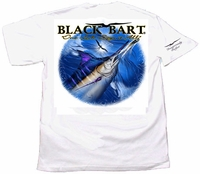 Black Bart ''One Look Says It All'' Short Sleeve T-Shirt White XX-Large