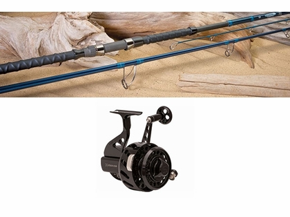 BlacktipH Pier Fishing Combo - Premium (Black Reel)