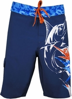 Bluefin USA Billfish Camo 4-Way Boardshorts