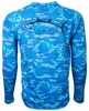 Bluefin USA Camo Logo Performance Long Sleeve Tees