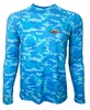 Bluefin USA Camo Performance Long Sleeve Tees