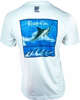 Bluefin USA Marlin Film Polycotton Short Sleeve Tee