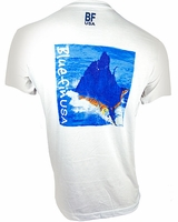 Bluefin USA Sailfish Splash Polycotton Short Sleeve Tee