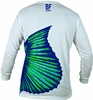 Bluefin USA Sailfish Tail Polycotton Long Sleeve Tees