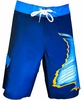 Bluefin USA Yellow Dorsal 4-Way Boardshorts