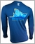Bluefin USA Yellow Dorsal Polycotton Long Sleeve Tees