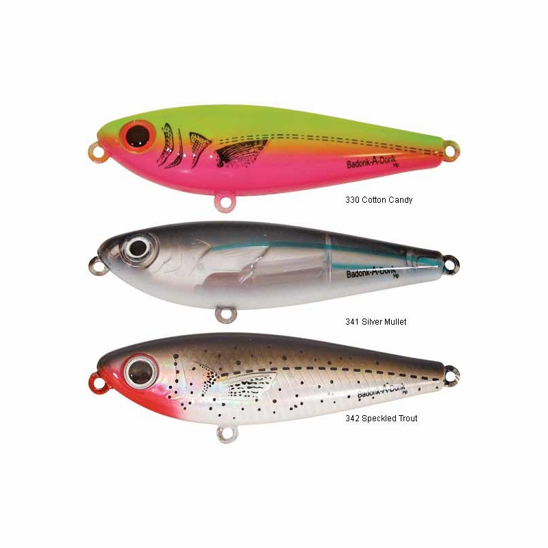 bomber badonk-a-donk topwater lures - tackledirect, Reel Combo