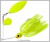 Booyah BYGBW12 Double Willow Glow Blade Spinnerbait 1/2oz