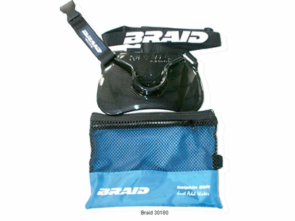 Braid 30180 Dolphin Stealth Carbon Fiber Finish Belt