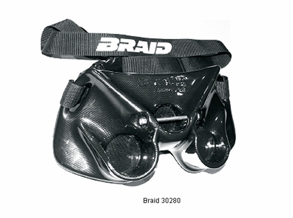 Braid 30280 Dolphin Stealth Carbon Fiber Finish Belt