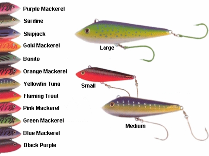 Braid Marauder Lures