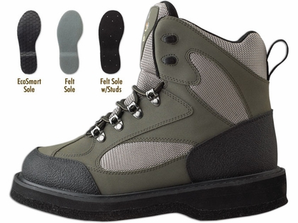 Caddis Northern Guide Lightweight Wading Shoes Felt Soles