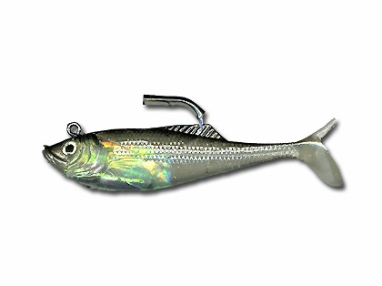 Calcutta Flashfoil Shads - 4 inch