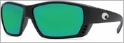 Costa Del Mar Tuna Alley Sunglasses 400G Matte Black Frame