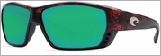 Costa Del Mar Tuna Alley Sunglasses 400G Tortoise Frame