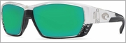 Costa Del Mar Tuna Alley Sunglasses 580 Glass Crystal Frame