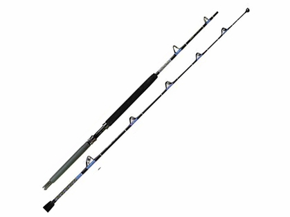 Crowder Bluewater Slick Butt/AFTCO HD Roller Guide Stand-Up Rods