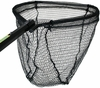 Cumings PRO-B-OCT-40-5-2 Black Octagonal Salmon Net 21.5in x 27in Bow