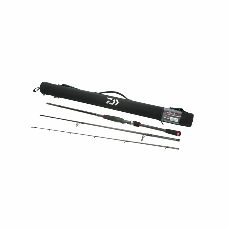 daiwa ardito multi-piece travel rods | tackledirect, Reel Combo