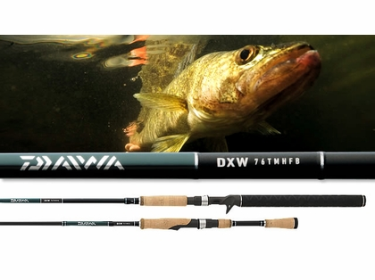 Daiwa DXW721MLXS DXW Walleye Spinning Rod