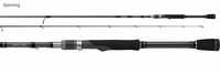 Daiwa LEXA711MXS LEXA Drop Shot Finesse Spinning Rod
