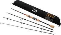Daiwa PSO604ULFS-TR Presso Ultralight 4pc Pack Spinning Rod