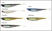 Damiki Ghost Shad Soft Swimbait - 5in