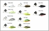 Damiki Noisy M Hull Turbulence Buzz Bait Lures