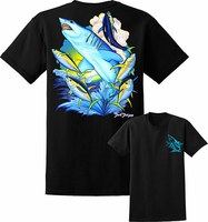 David Dunleavy DDM8022 Mako Shark Tee Black