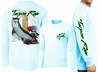 David Dunleavy DMW8033 Tarpon Rum Florida Long Sleeve Tees