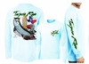 David Dunleavy DMW8033 Tarpon Rum Texas Long Sleeve Tees