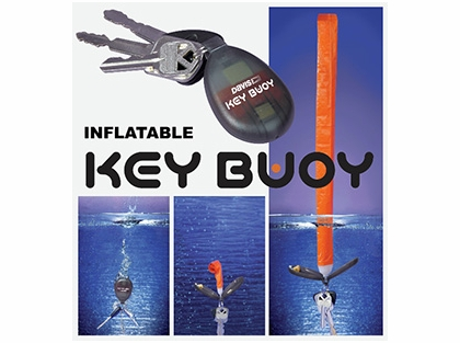 Davis 31949 Key Buoy Self-Inflating Key Fob