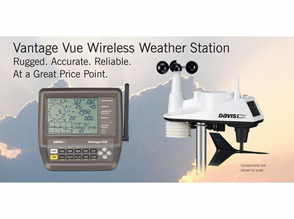 Davis 36629 Vantage Vue Wireless Weather Station