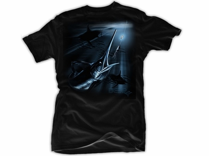 Deep Ocean Sword Bite T-Shirt