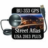 DeLorme GPS Receiver with Street Atlas 2013 Plus