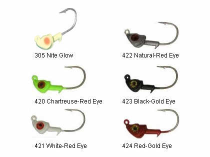 DOA C.A.L. Jig Heads 1/8oz 3 Pack